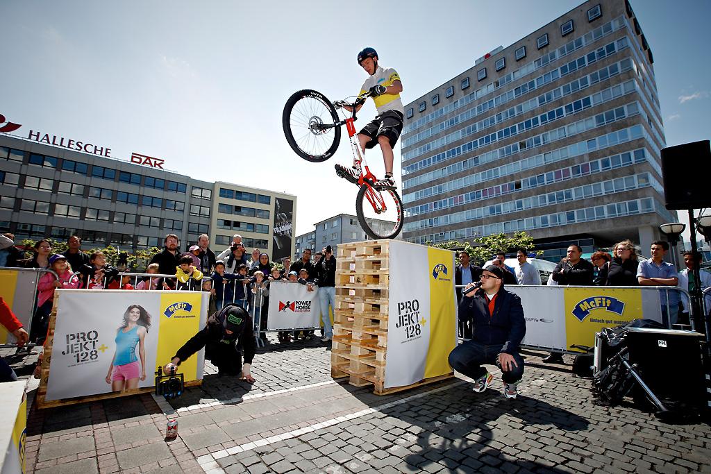 Wereldtoppers in Antwerpen tijdens de WB Trial