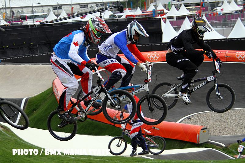 De BMX omloop in Londen
