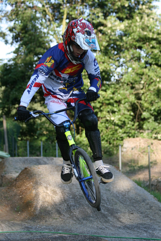 Indoor BMX Wedstrijd Saint Etienne in Frankrijk