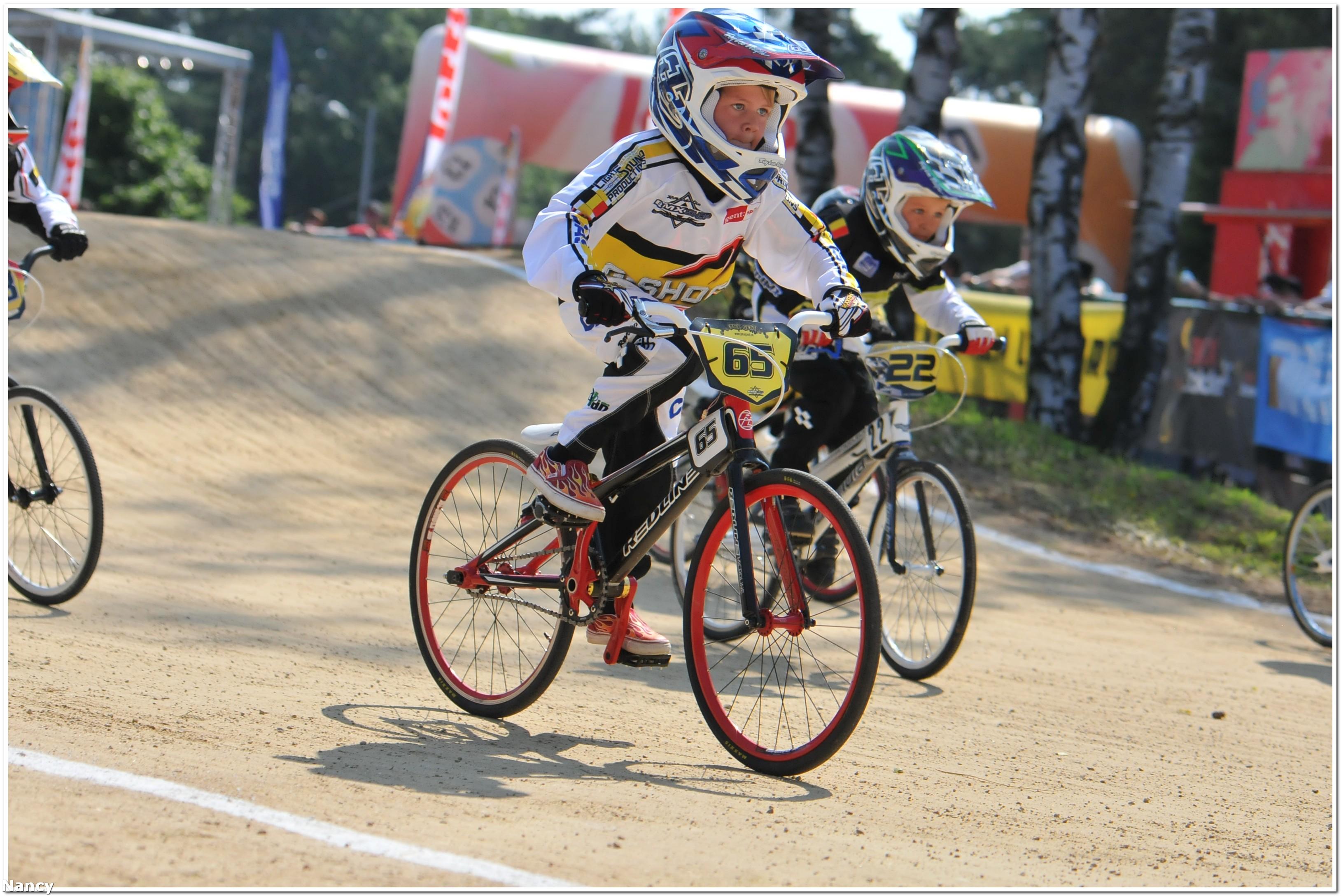 Het EK BMX op RTV