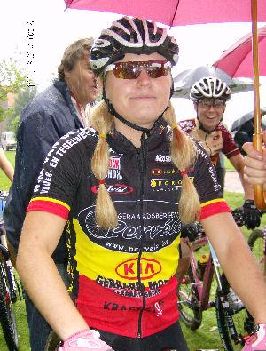 Githa Michiels trots op vijfde plaats op EK