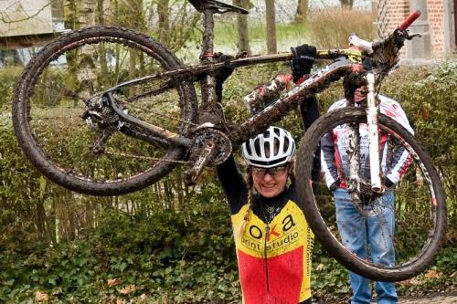 Githa Michiels negende in Heubach