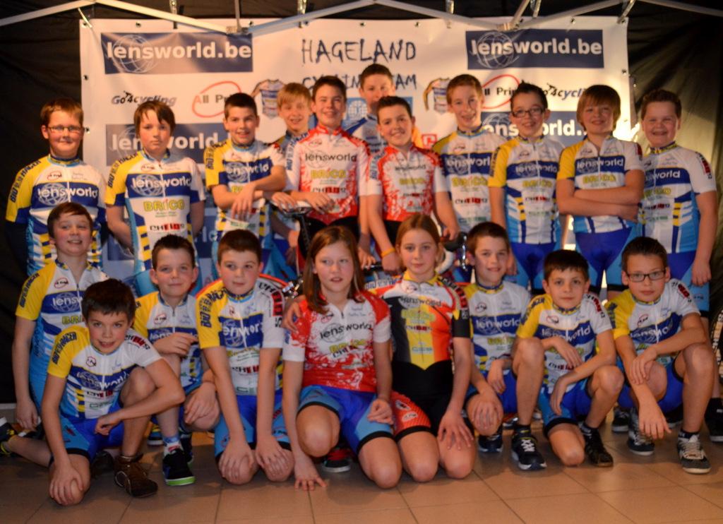 Ploegenvoorstelling Hagelandse Cycling Team