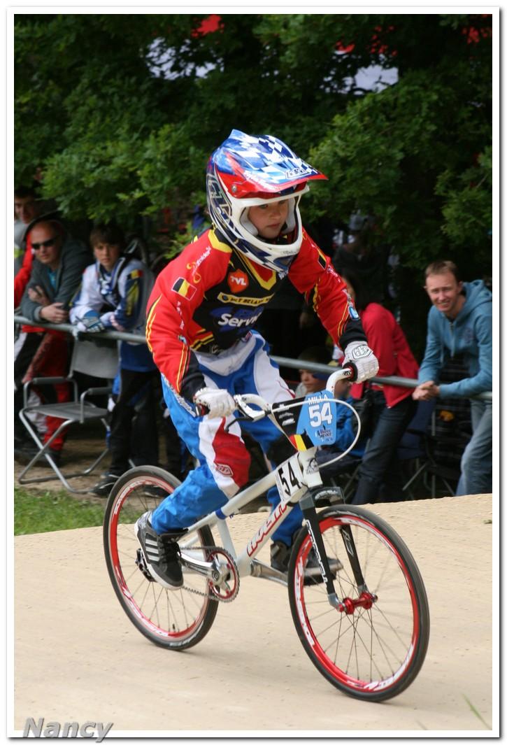 Opening van het BMX seizoen met de Topcompetitie in Ravels op 14 april 2013