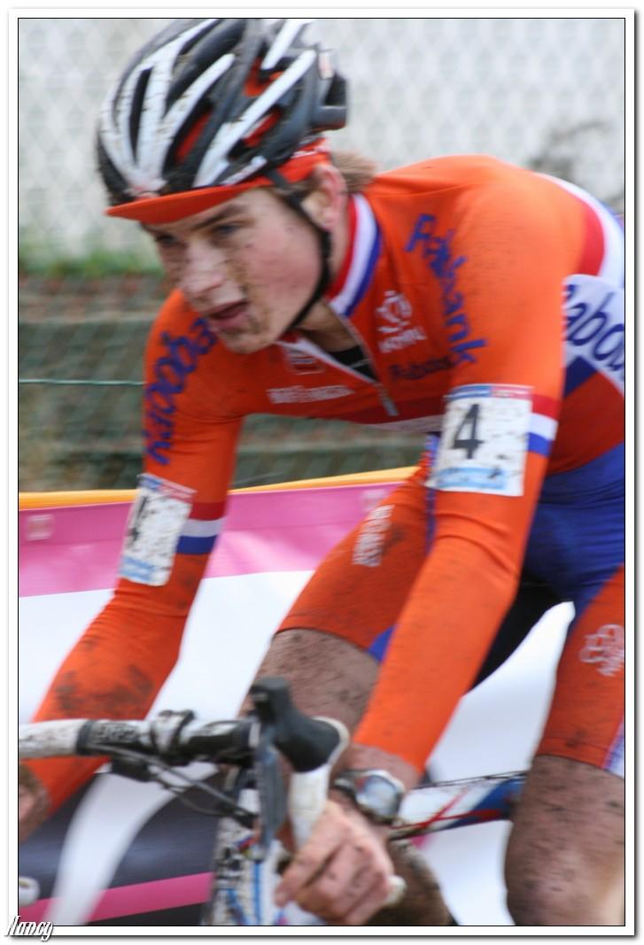 Nederlands Kampioenschap Lars Van der Haar en David Van der Poel in actie