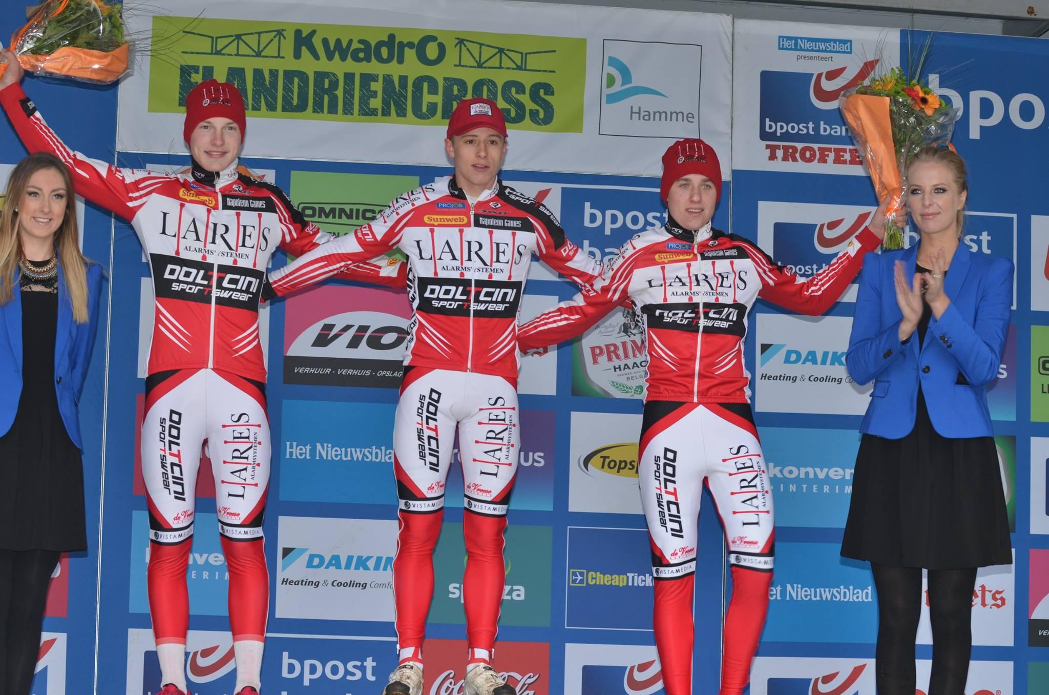 Junior Jappe Jaspers wint in Hamme Zogge