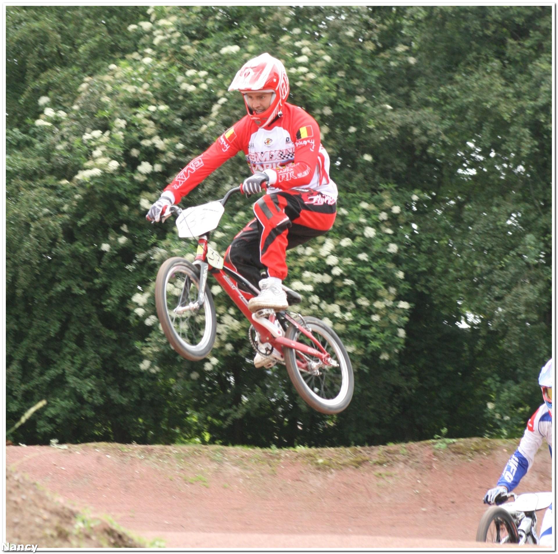 Jerome Lange wint de Wallonia Cup BMX