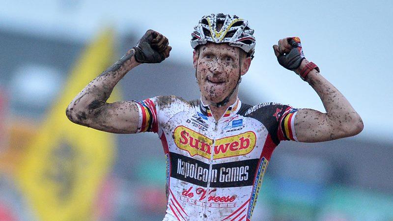 Onzichtbare man Klaas Vantornout wordt Belgische Kampioen Elite in Erpe Mere