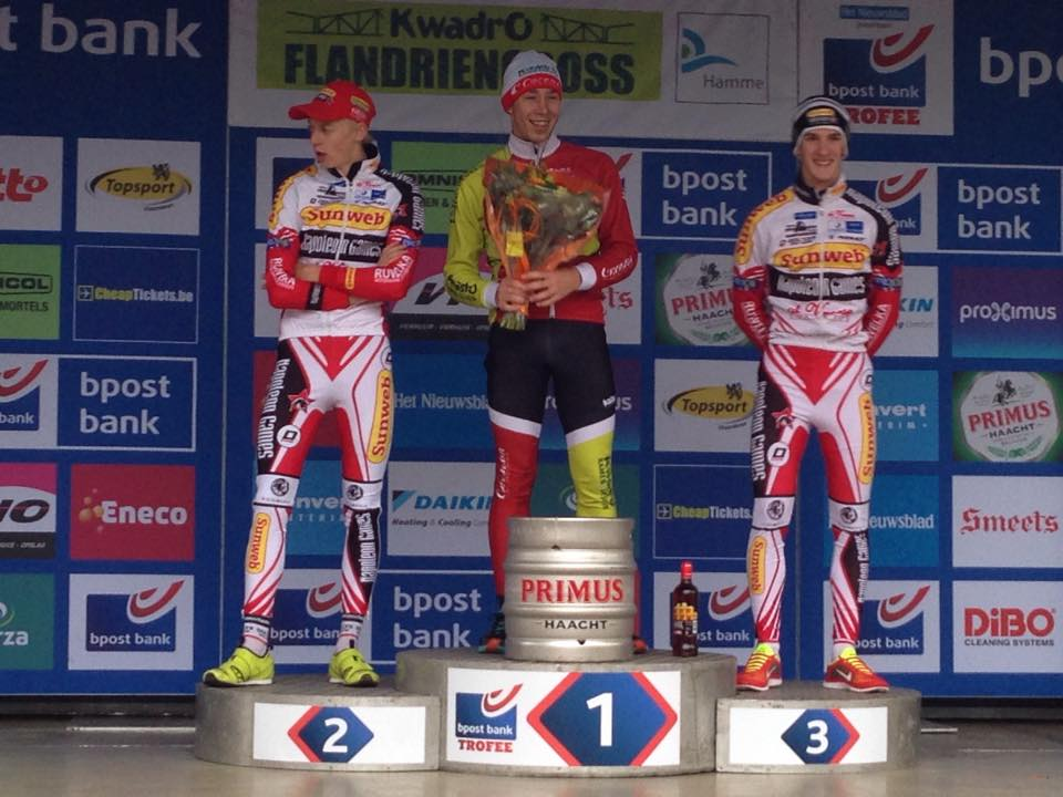 Goud voor Yannick Peeters en Michael Vanthourenhout op EK