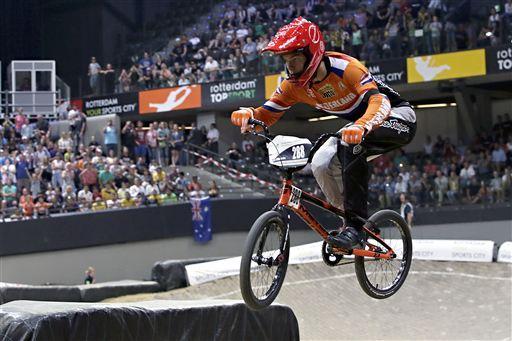 Niek Kimmann behoort bij de besten tijdens de Jeugd Olympische Spelen.