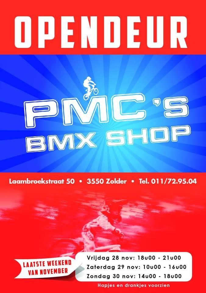 Open Deur Dag bij PMC BMX Shop