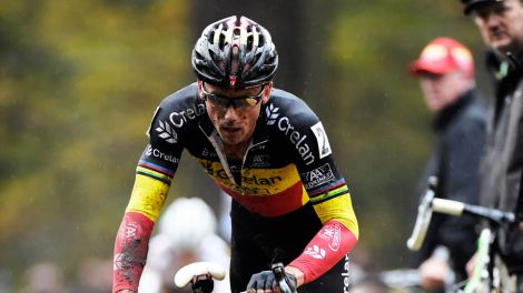 Sven Nys is oppermachtig in de Superprestige in Diegem