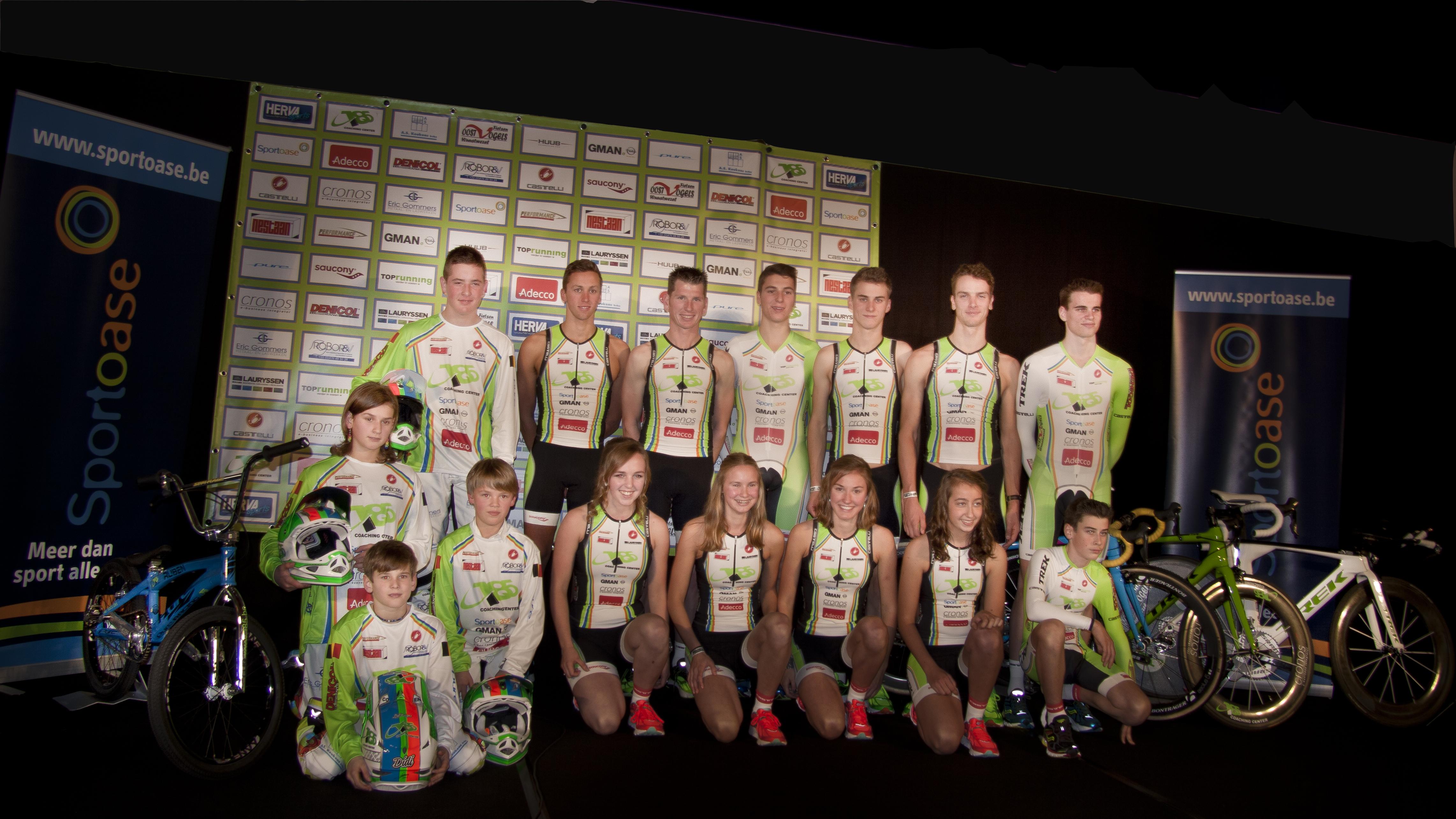 Voorstelling 185/Sportoase/Castelli Omnium team 2015