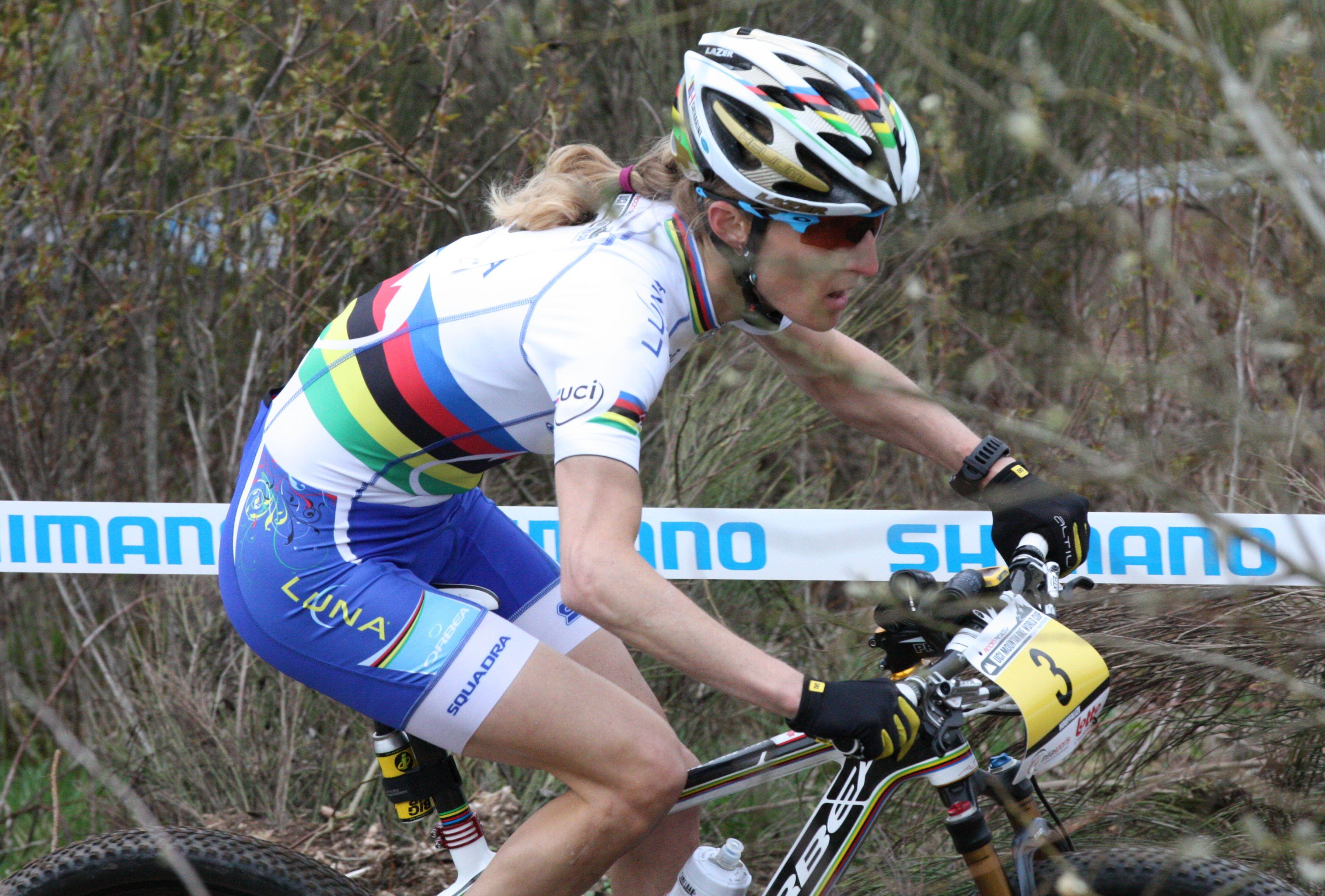 Catharine Pendrel wereldkampioene dames elite