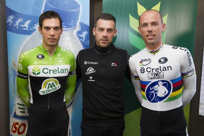 Crelan AA Drink Team is nieuw team van Sven Nys en Sven Vanthourenhout.