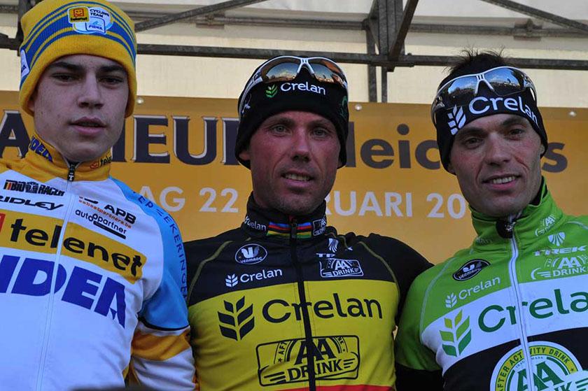 Sven Nys wint in Hoogstraten