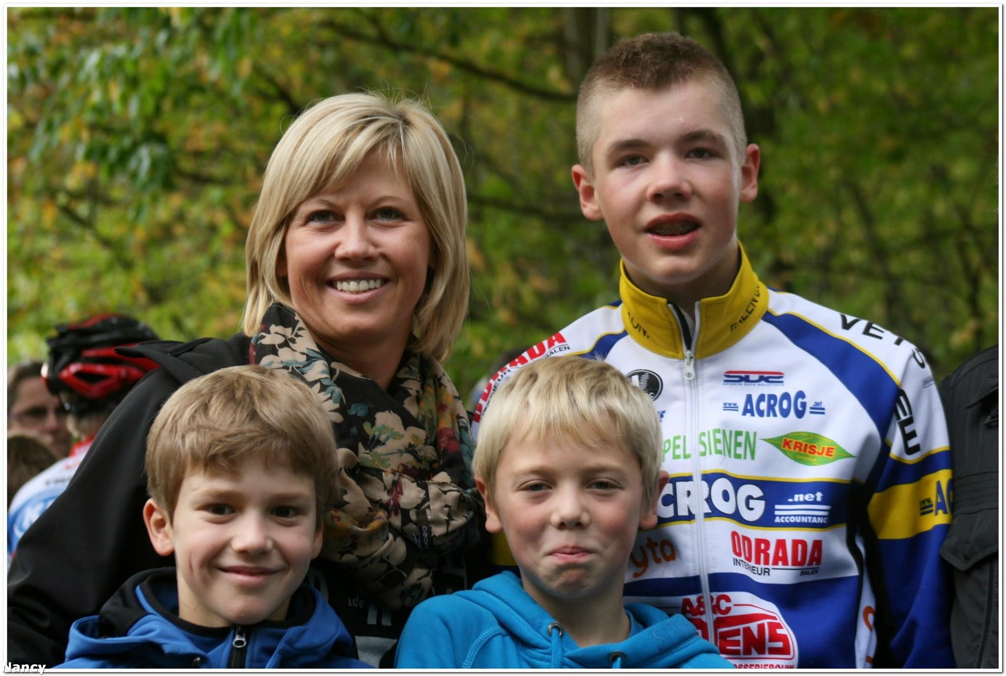 Dennis Blommen knap derde in Superprestigecross Gavere