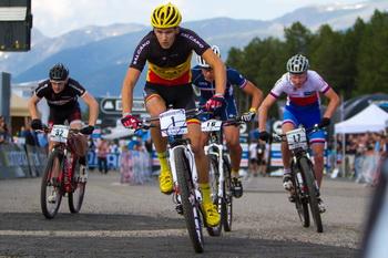 Wereldkampioen Fabrice Mels neemt deel aan City Mountainbike in Gent