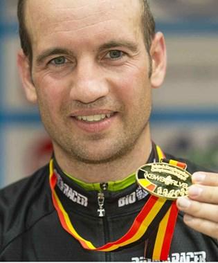 Jimmy Tielens(masters 1) en Kurt Tempst(masters 2) Belgisch kampioen