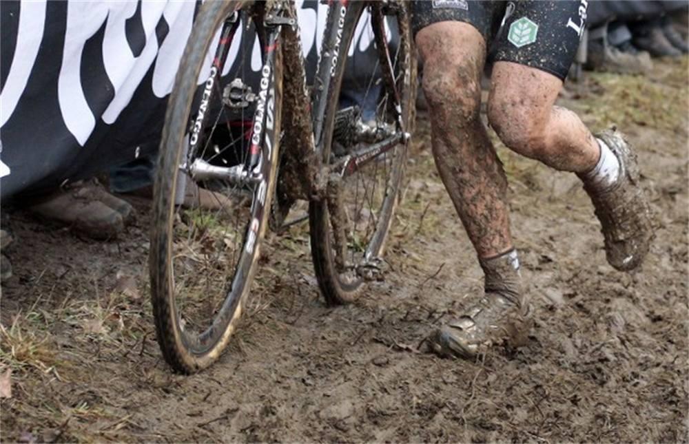 Selectie voor de laatste manche van de wereldbeker Cyclocross in Hoogerheide 2015