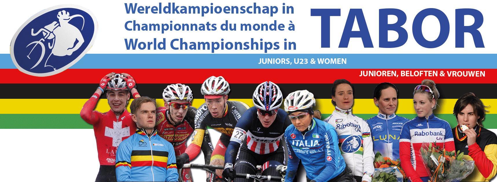 Dag 1 WK Tabor Junioren en Vrouwen.