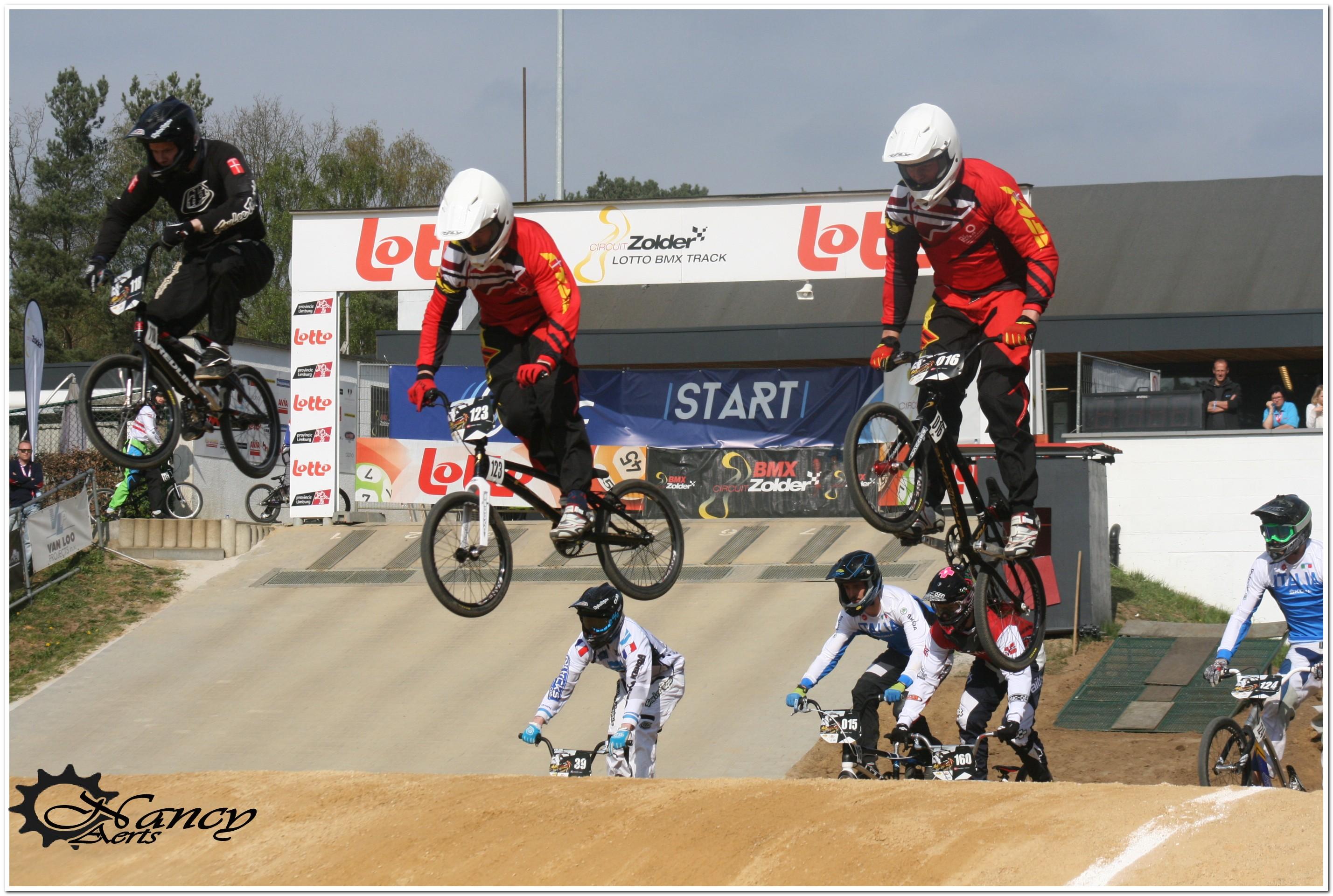 EK Ronde 1 Zolder finale 15-16 jarigen 2014