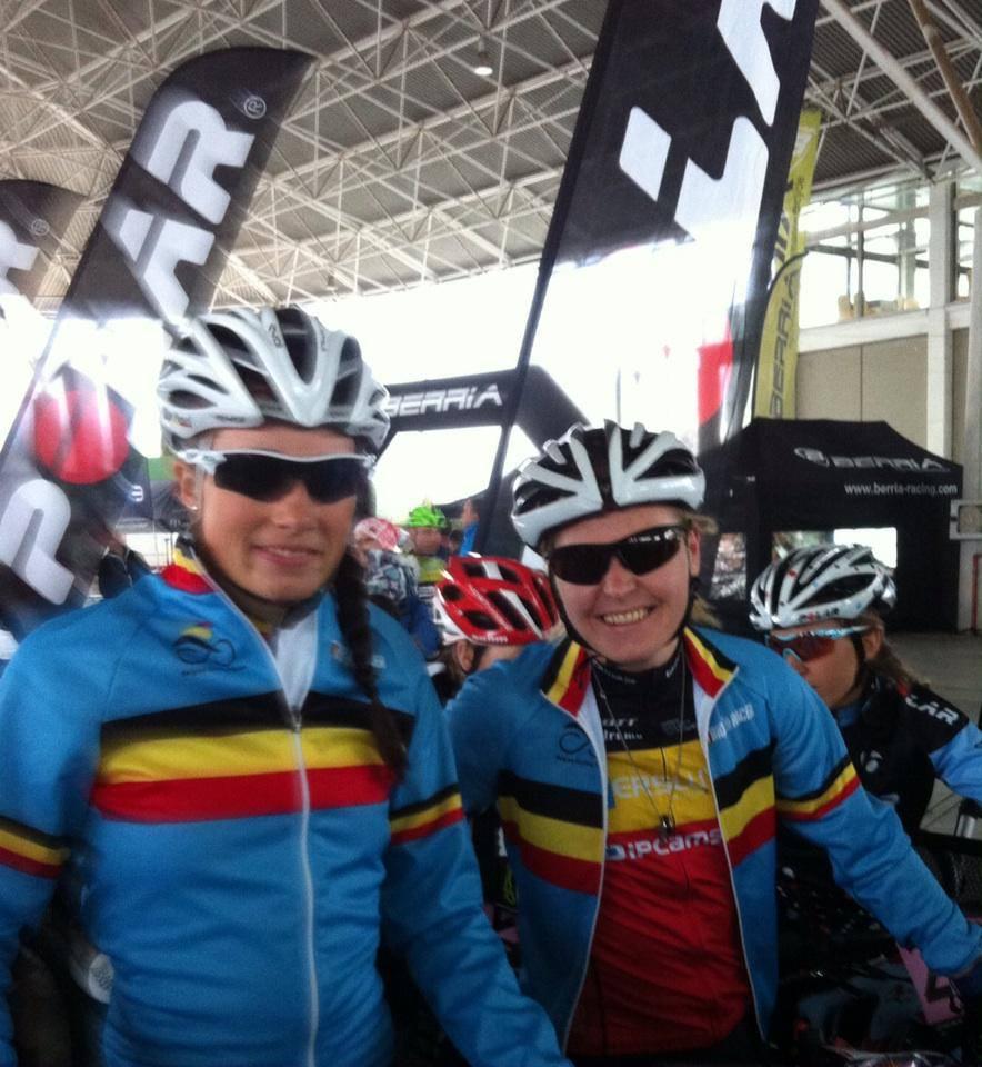 Alice Pirard en Githa Michiels derde in eerste rit Andalucia bike race