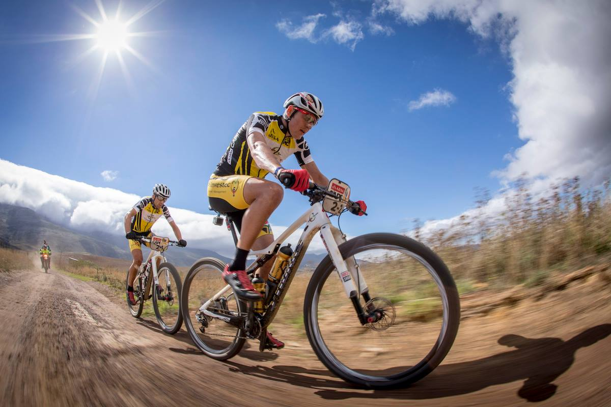 De Absa Cape Epic route van 2016