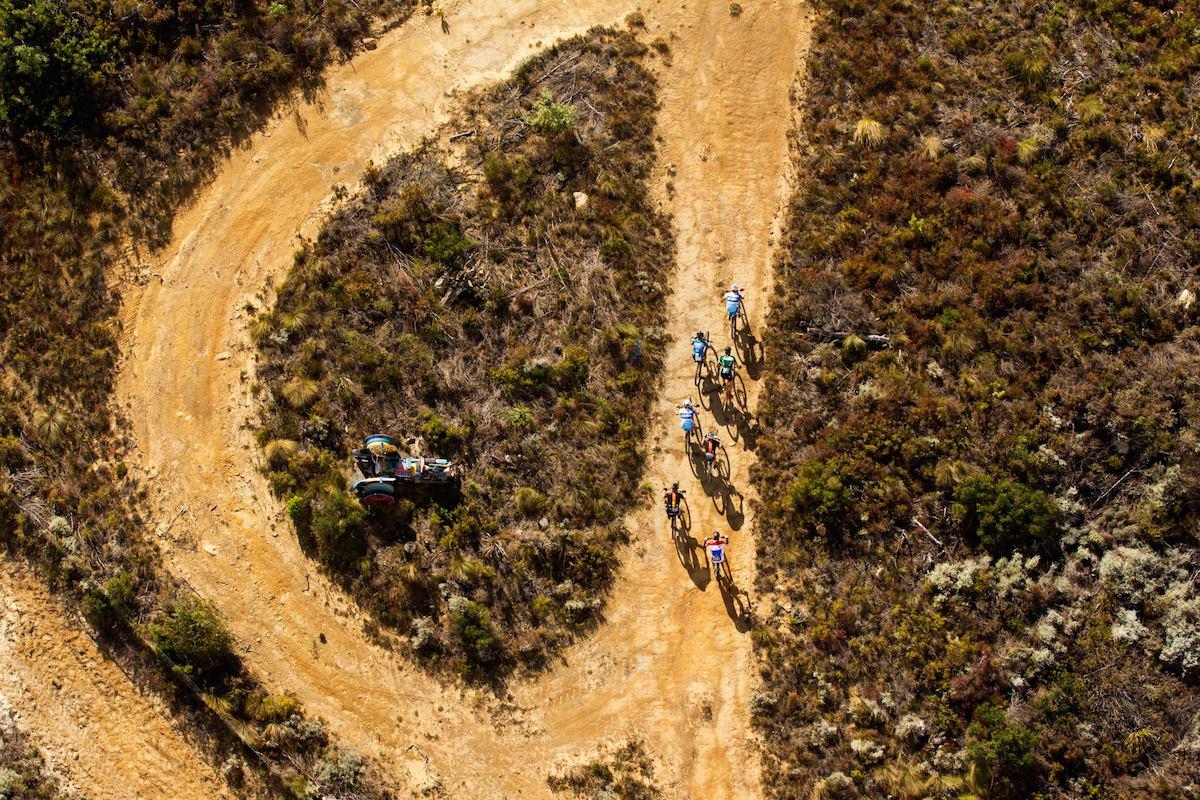 Ook de derde rit is voor Sauser en Kulhavy in Cape Epic