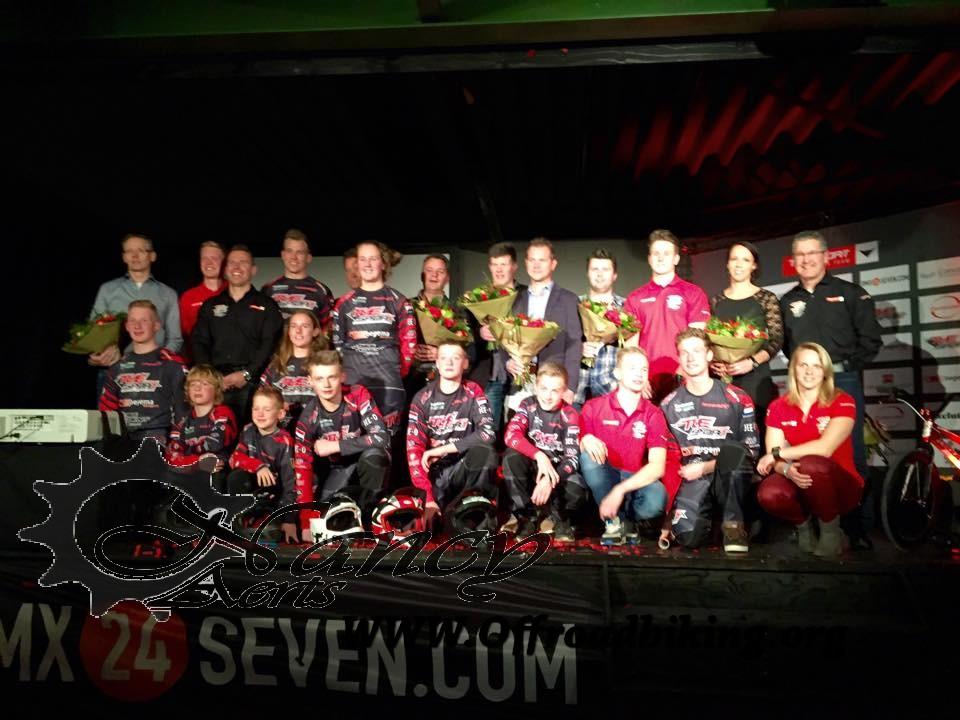 Teampresentatie TVE BMX team