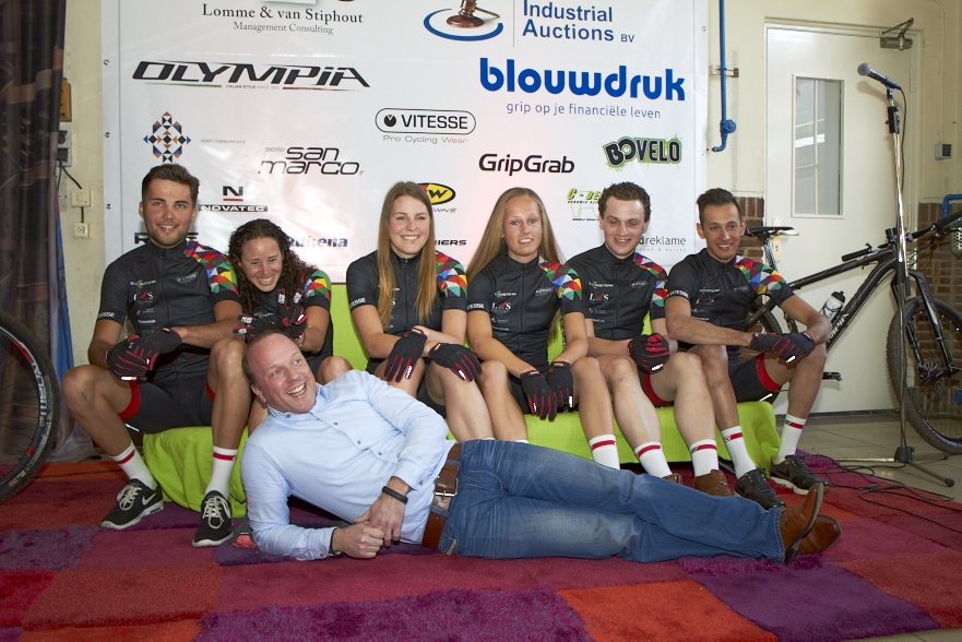 Teampresentaties SBJ Biketeam 2015
