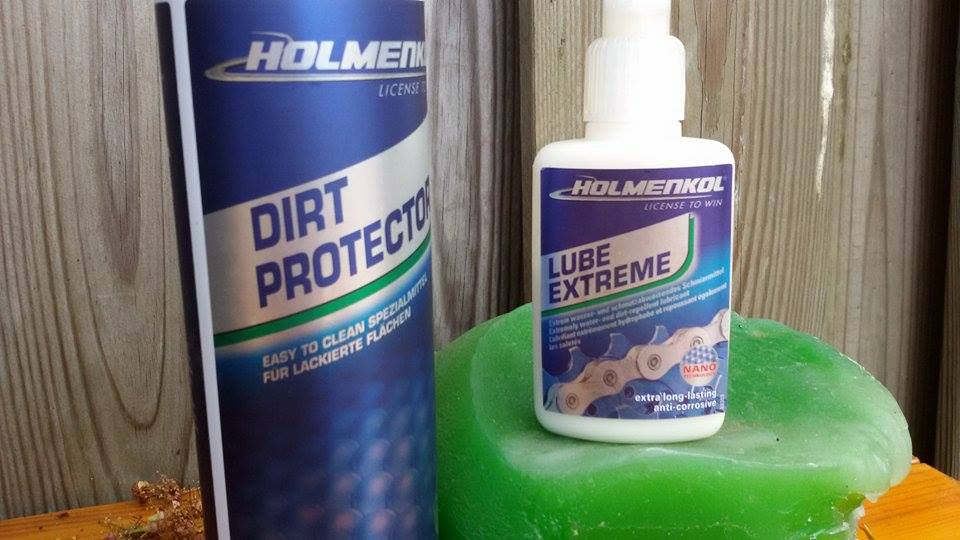 Duurtest Holmenkol Lube Extreme en Dirt protector
