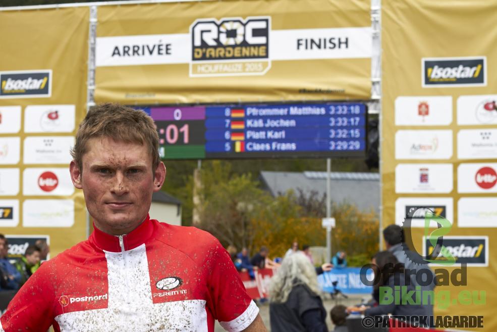 Beeldinterview Sören Nissen ROC Marathon Houffalize 2015