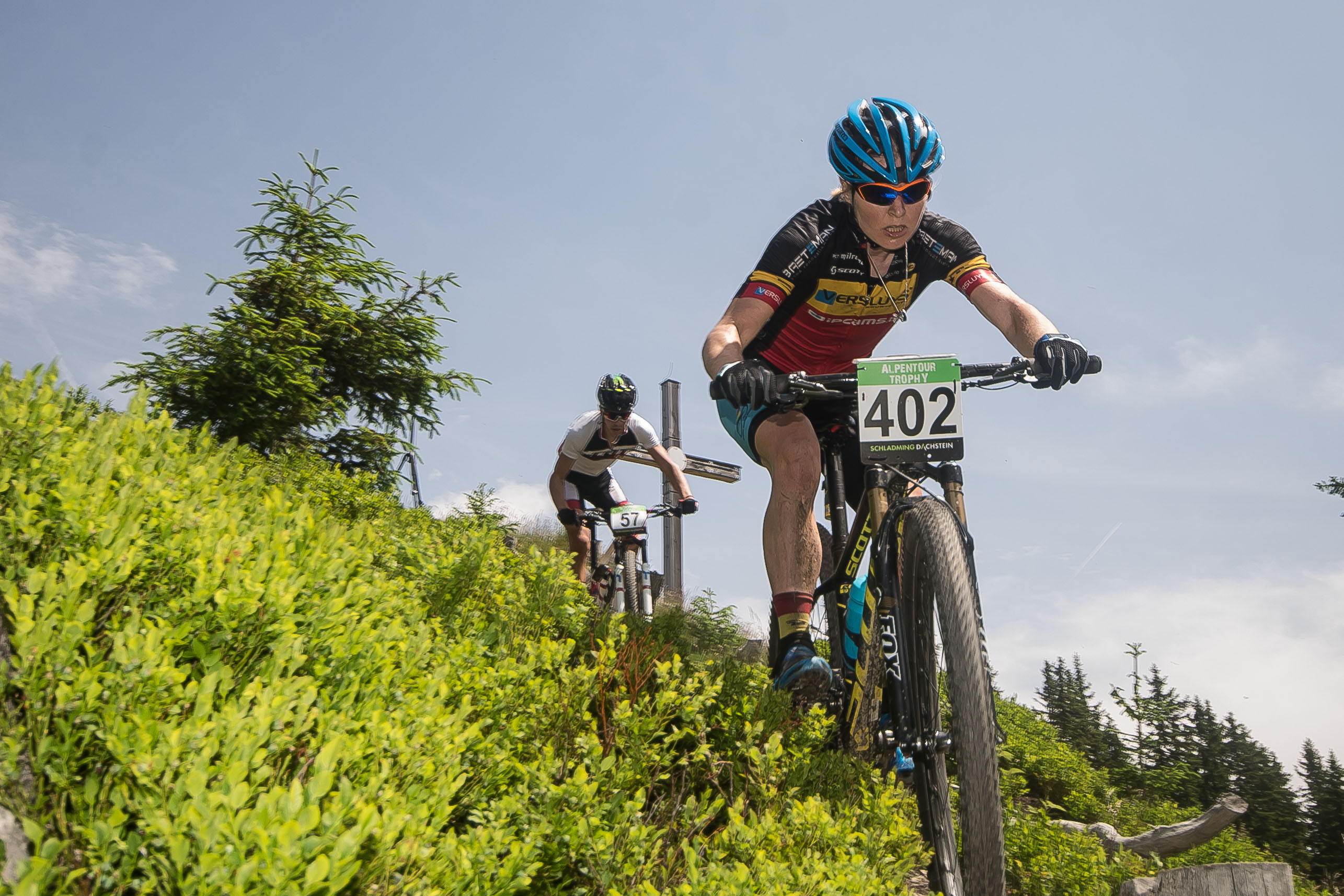 Githa Michiels derde in Alpentour trophy, Lakata wint bij de elite heren.