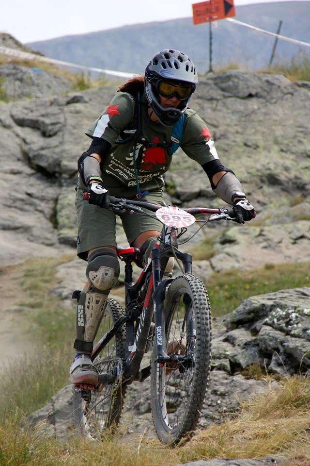 Kristien Nelen wordt derde in Mountain of Hell