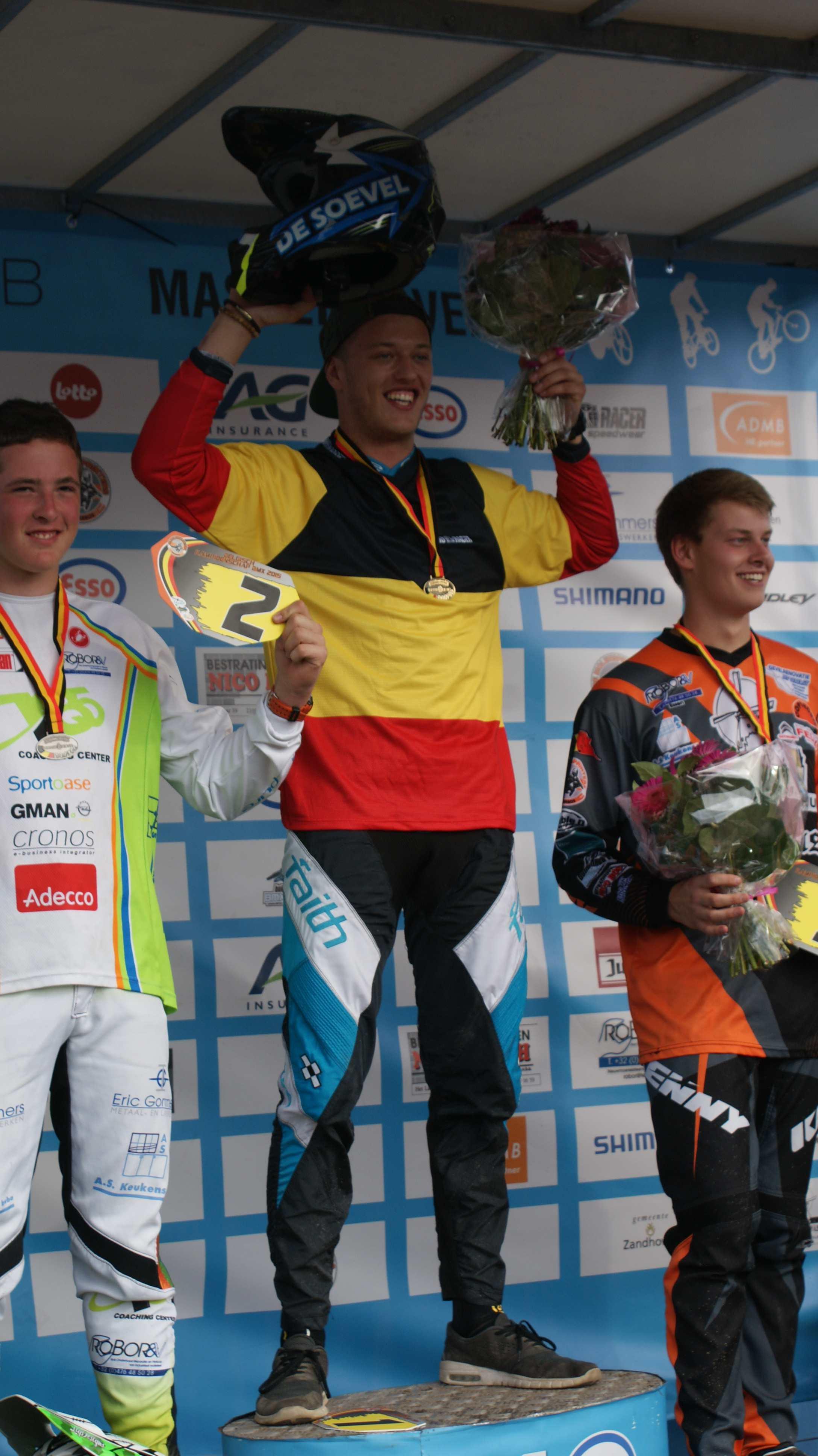 BMX 2000 Dessel heeft zes Belgische kampioenen