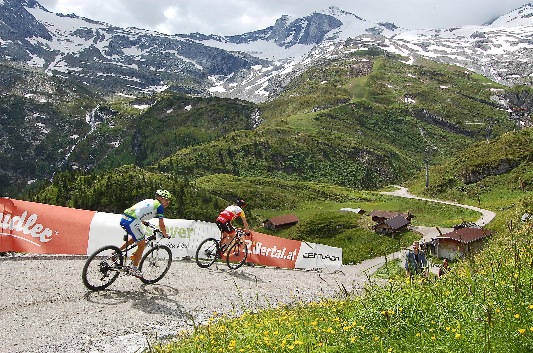 Markus Kaufmann wint eerste rit Zillertal Bike Challenge