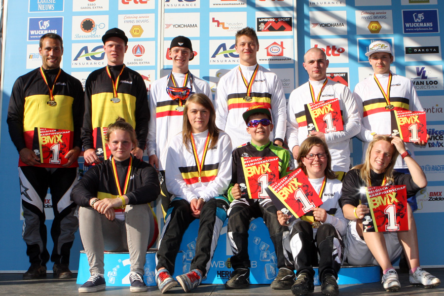 Belgisch Kampioenschap BMX is geen verplichte wedstrijd