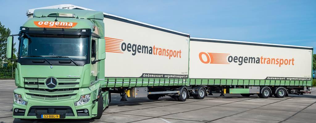 Eén van de sponsors van TVE BMX Team : Oegema Transport