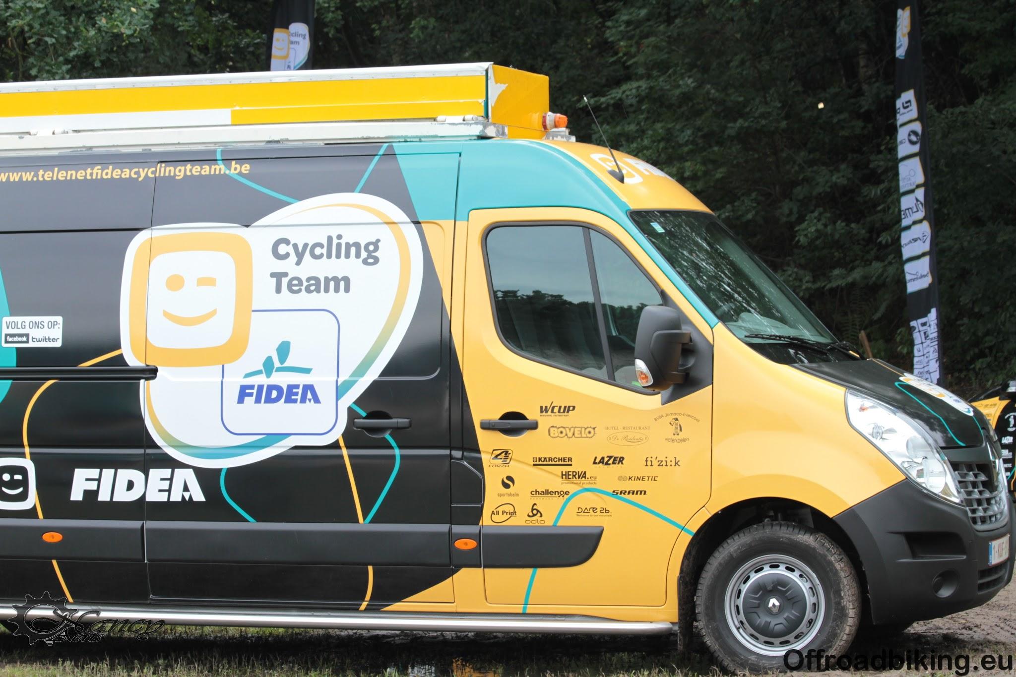 Telenet-Fidea Cycling Team afgereisd naar Amerika