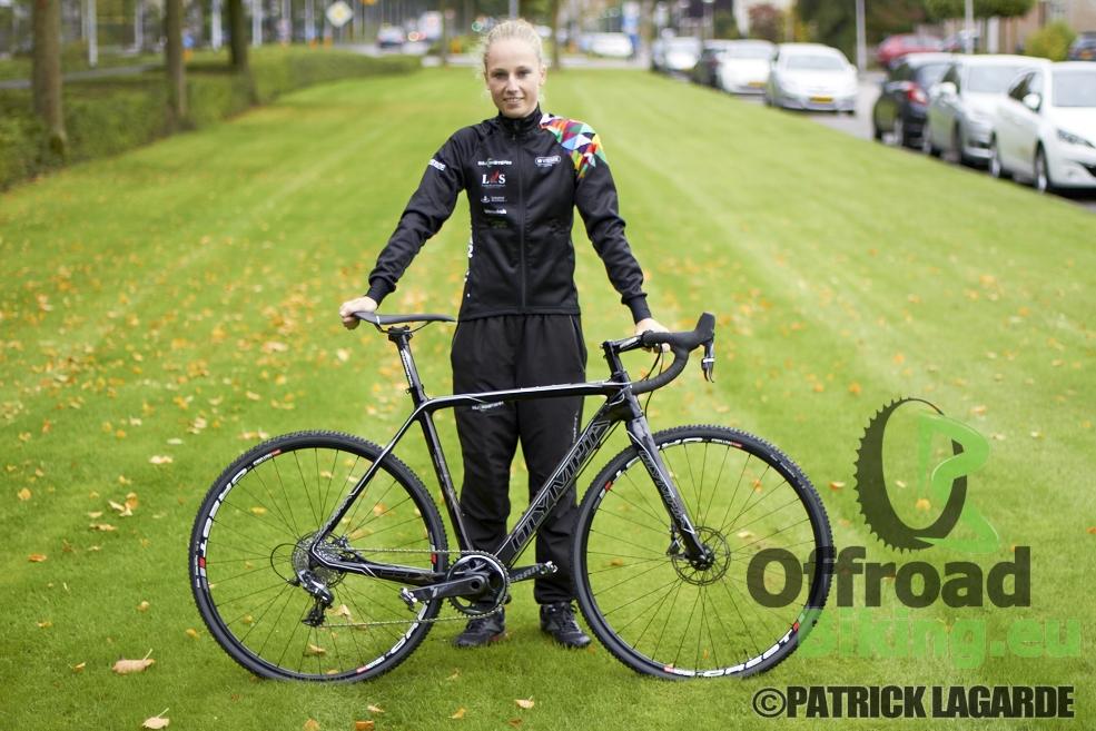 Olympia cyclocrossfiets prototype van Lizzy Witlox