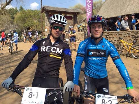 Jens Schuermans en James Reid tweede in Lesotho Sky