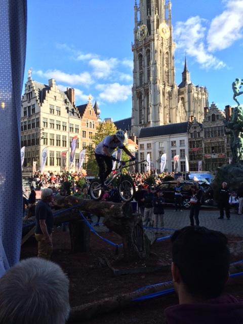 Wereldkampioene Janine Jungfels wint in Antwerpen