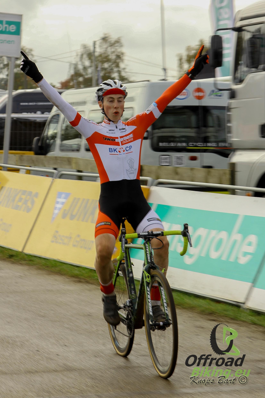 Jens Dekker wint in Zonhoven