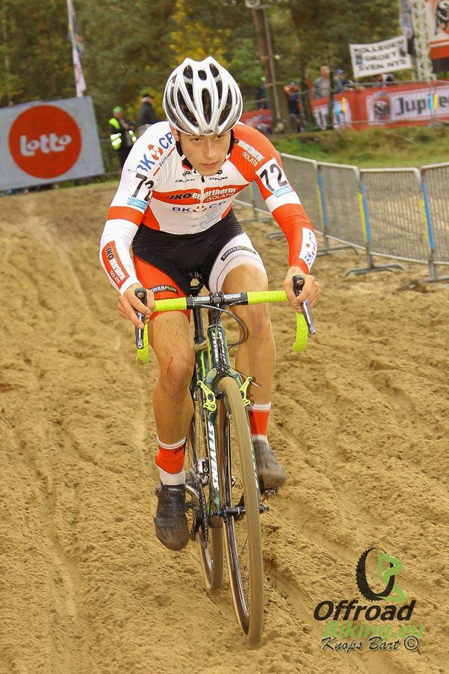 Jappe Jaspers wint in Boom