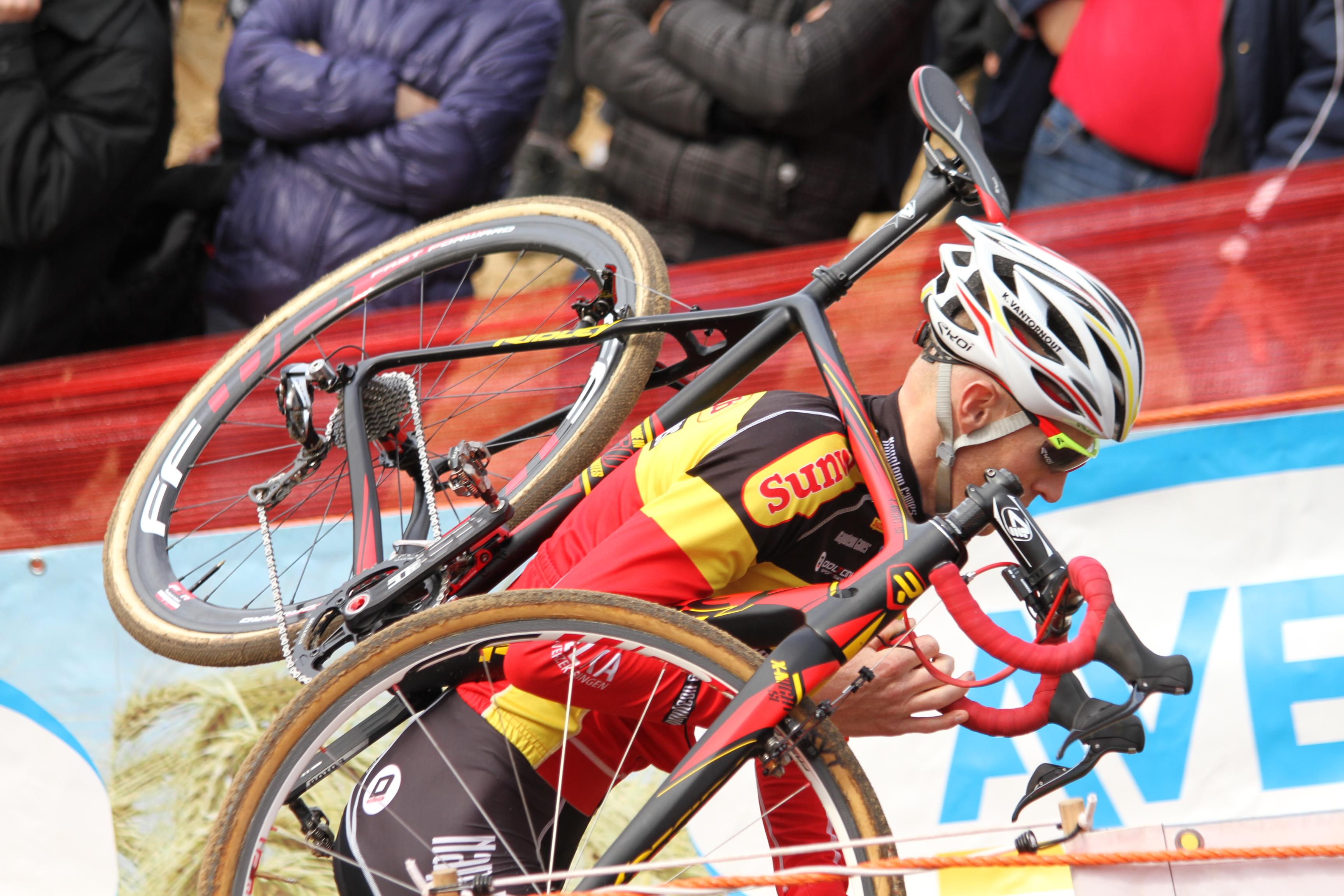 Klaas Vantornout start niet in Koppenbergcross