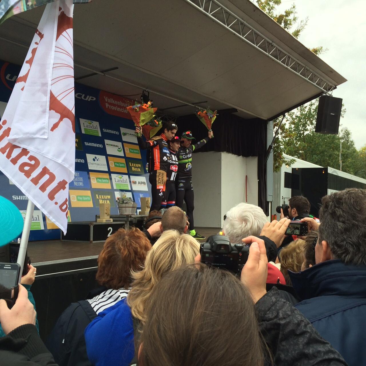 Lars van der Haar zegeviert voor derde keer op rij in Valkenburg