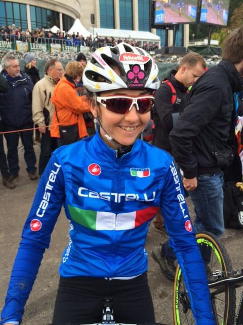 Eva Lechner outstanding in wereldbeker Valkenburg