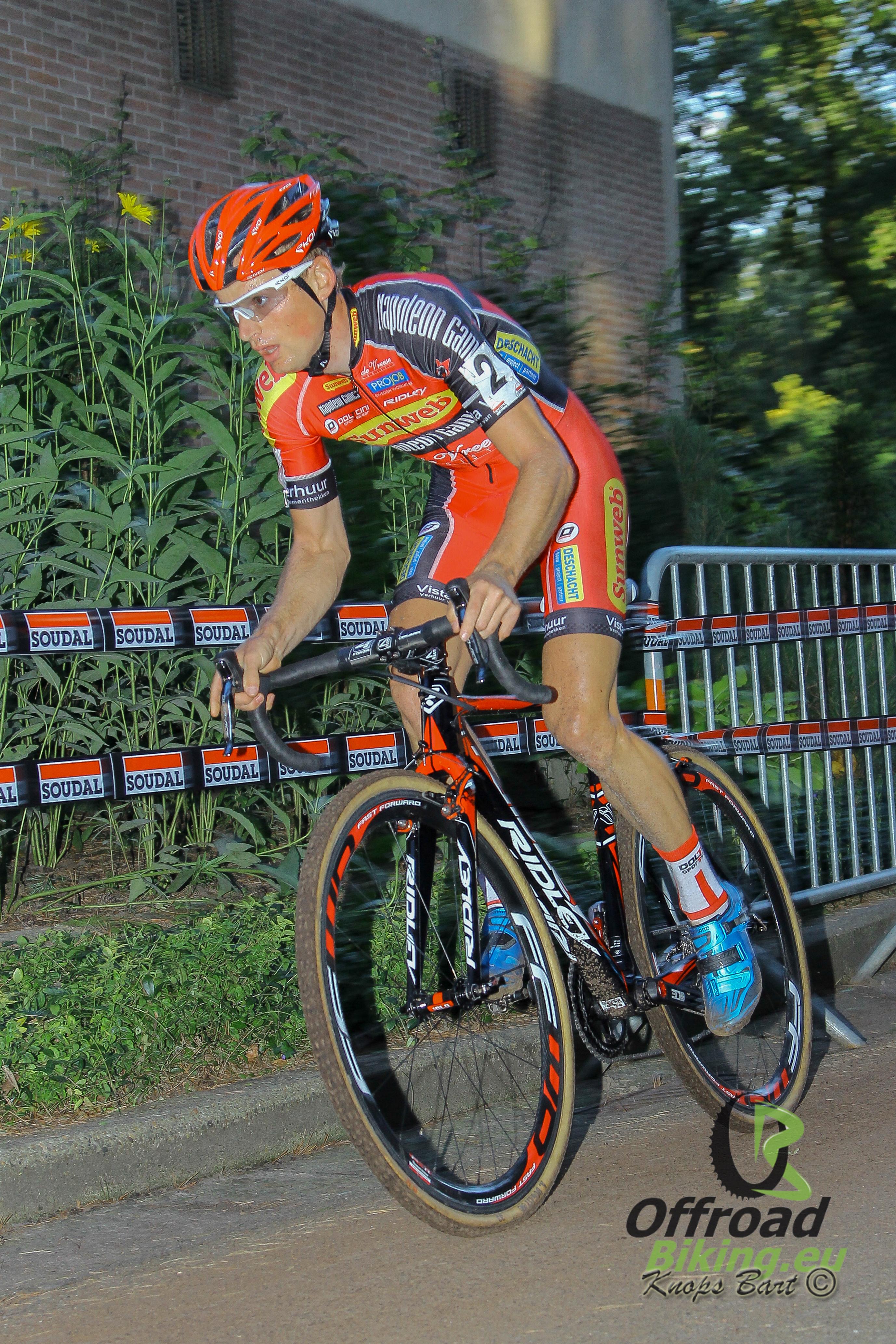 Kevin Pauwels bereidt BK voor in Spanje