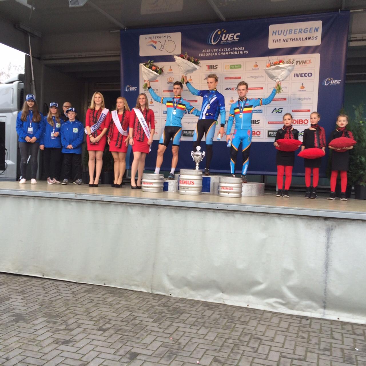 Quinten Hermans is Europees Beloften kampioen
